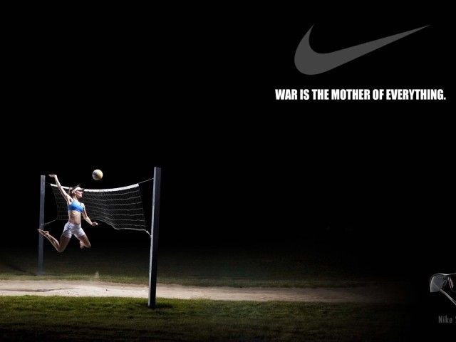 Nike Volleyball Poster Hd The Game Pinterest Nike