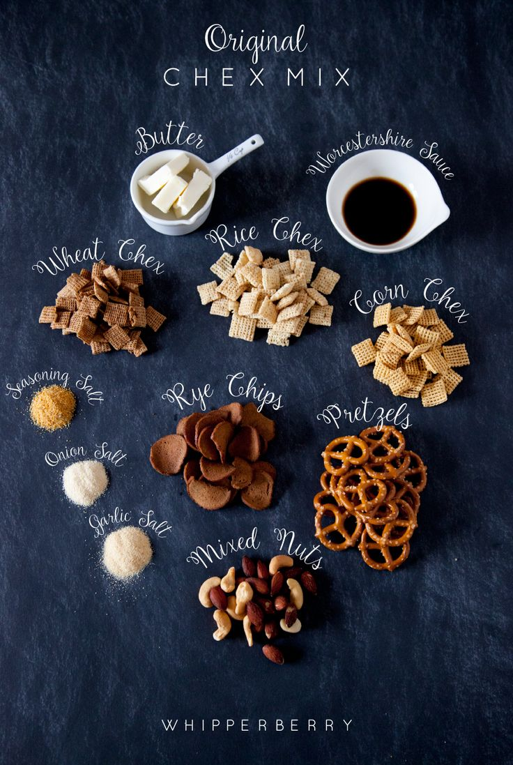 Original Chex Mix Recipe + Merry Chexmas Printable Gift Tag | Whipperberry | Bloglovin'