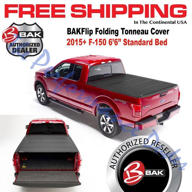 Same Business Day Shipping BAKFlip MX4 Hard Folding Tonneau Cover 2015-2018 F-150 6.6' Bed 448327 SC CC BAK