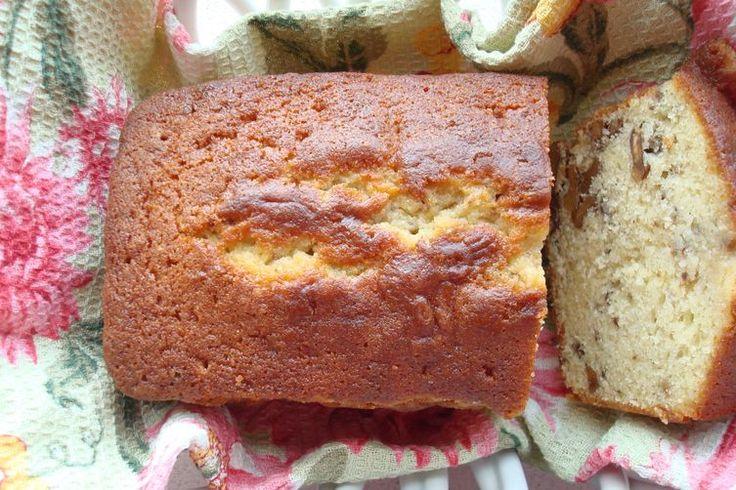 Toasted Walnut Teacake with a Fragrant Sage-Lemon-Honey Glaze recipe on Food52