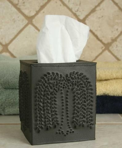 Tissue Box Holder - Willow