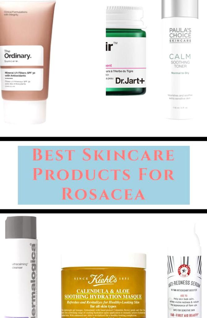 When Dealing With Rosacea Its Better To Have An Idea About What Type Of Products To Use And What Ingredients To A In 2020 Anti Redness Best Skincare Products Skin Care