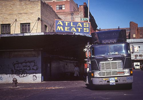 NEW YORK CITY 1990's - Photo archives by Gregoire Alessandrini: MEAT MARKET (Meat Packing District) 1990's - REPOST - Updated April 2016 -