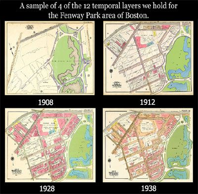 Historical Maps help you track your ancestors to their homes; see the roads they traveled on.