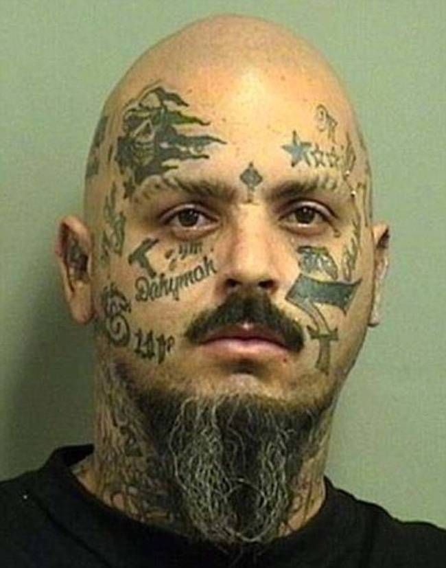 These 21 Mugshot Tattoos Are More Terrifying Than Any ...