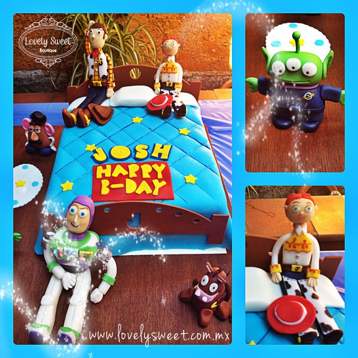 Toy Story Cake by Lovely Sweet Boutique  www.lovelysweet.com.mx