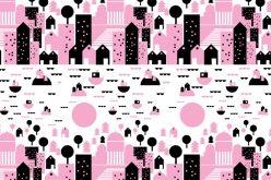 Bombotti, pattern /  Helsingin kesä - Summer in Helsinki / design Sanna Pelliccioni
