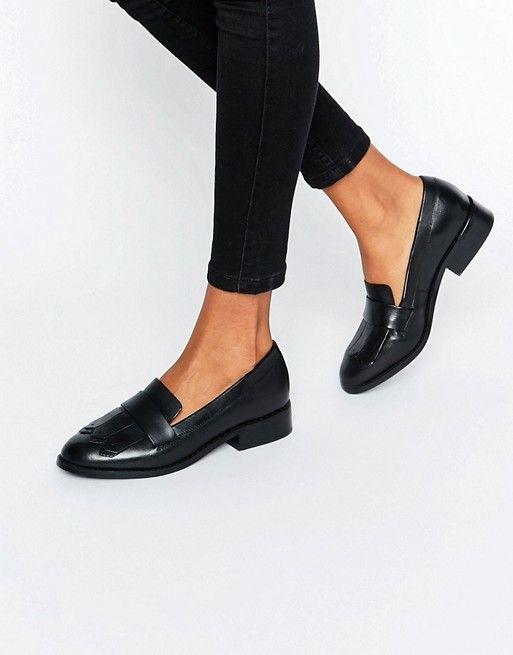 ALDO   ALDO Mairi Fringe Leather loafers