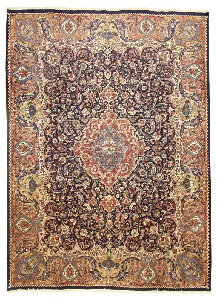Kashmar Perser  Teppiche  Handgeknüpft 400 x 300 cm oosters tapijt Rugs  | eBay