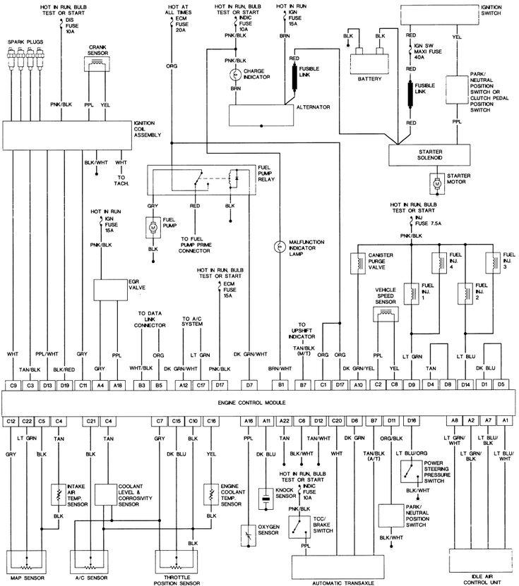 Wiring Diagram 1998 Pontiac Grand Prix Gt Coupe
