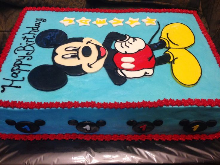 Mickey Mouse Clubhouse Sheet Cakes Google Search