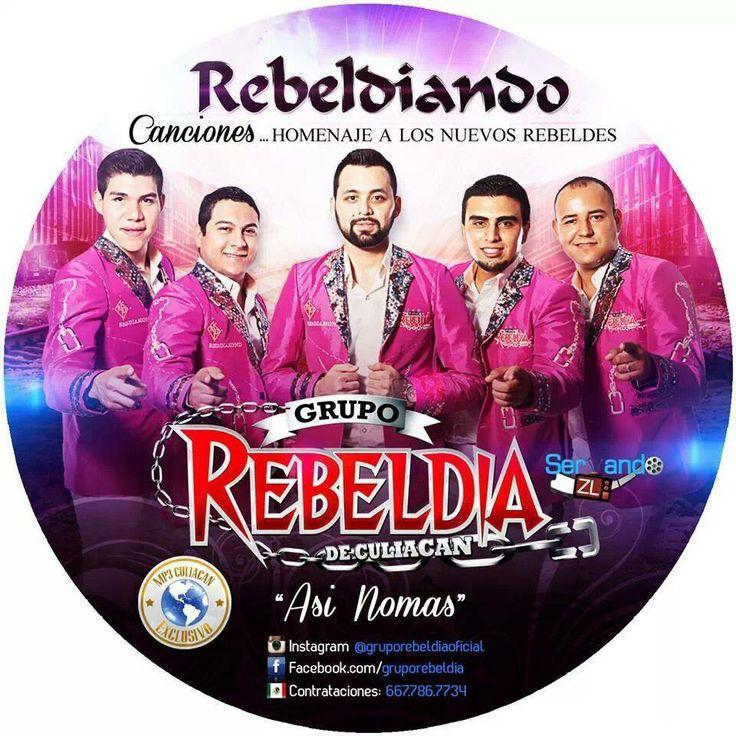 Grupo Rebeldia - Rebeldiando Canciones (2014)