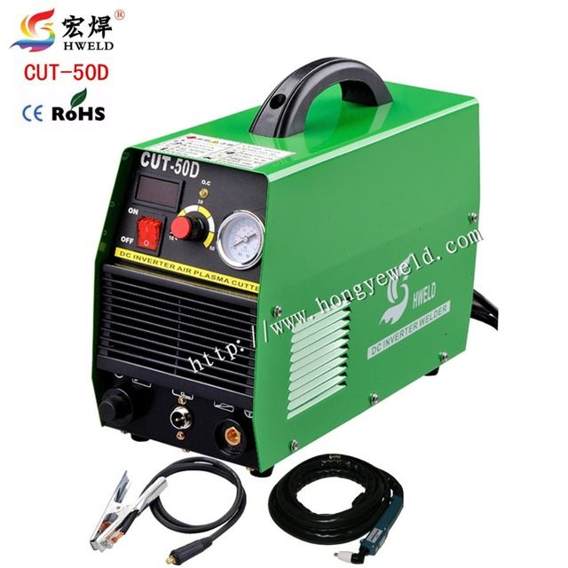 Welding Machine Digital Inverter Weld  Air Plasma Cutter Inverter Machine 220V CUT50D With Accessories