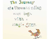 The Journey: Back To Schools, Journey Letterpresses, Inspiration Wall Art, Art Motivation, Letterpresses Art, Schools Offices, Zen Quotes, Art Prints, Art 2013