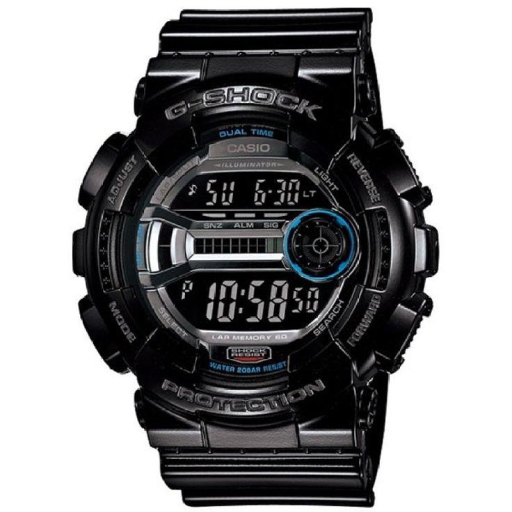 ด่วนที่สุด<SP>Casio G-shock นาฬิกาข้อมือ รุ่น GD-110-1DR - สีดำ++Casio G-shock นาฬิกาข้อมือ รุ่น GD-110-1DR - สีดำ Mineral Glass Shock Resistant 200-meter water resistance Case / bezel material: Resin Resin Band LED Backlight (Super Illuminator) Auto light switch,  ...++