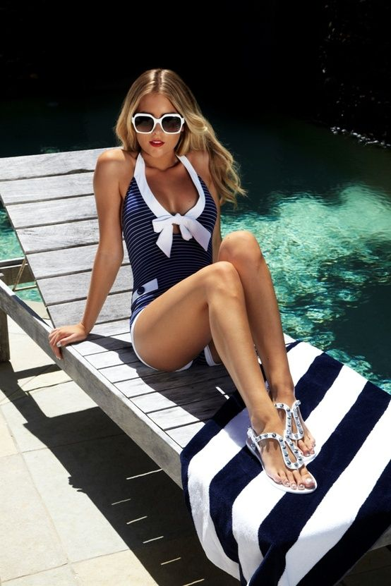 Fashion Worship | Women apparel from fashion designers and fashion design schools  Adore this bathing suit