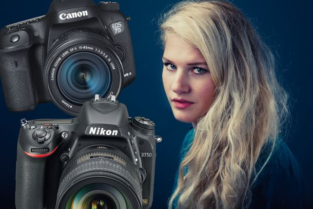 In our latest Nikon vs Canon DSLR comparison, we look at which full-frame and APS-C cameras are best for portrait photography
