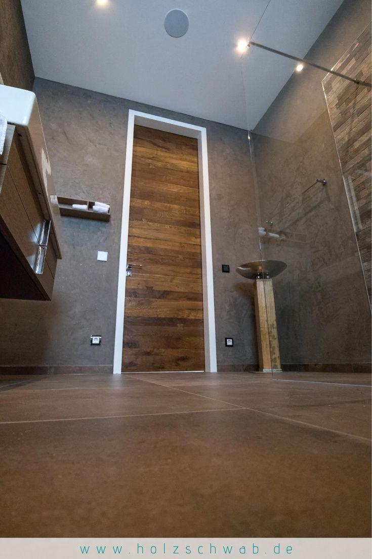 Zimmertur Mit Parkett In 2020 Holzdielen Holz Innenturen