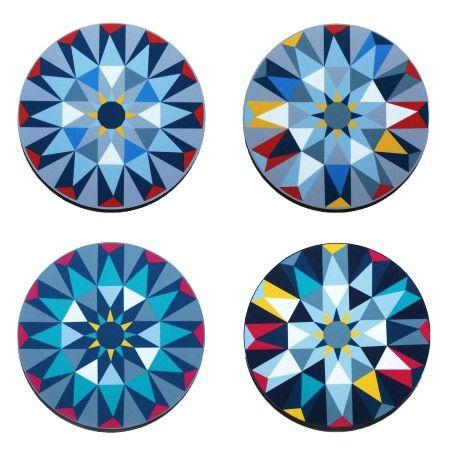 Kaleidoscope Tablemat Set @ Howkapow