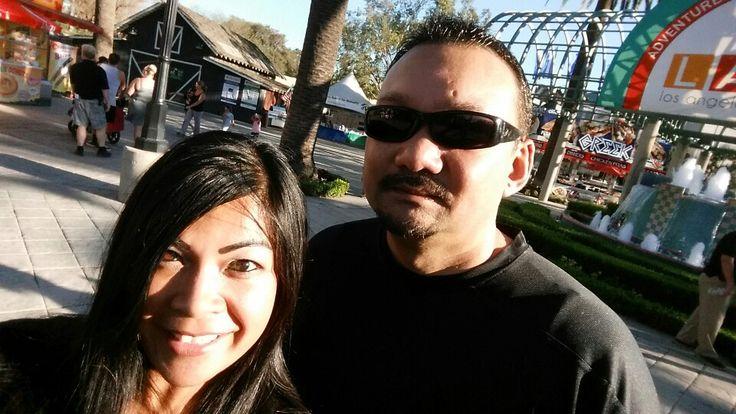 At the LA County Fair!  Jason Derulo concert!  ♡ XD ♡