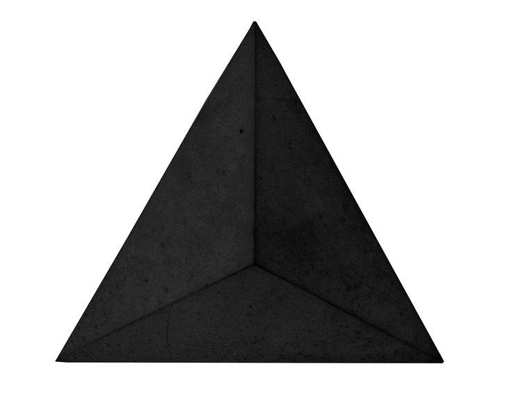 Płytka 3D Pyramids - Czarna - zdjęcie od Bettoni - Beton Architektoniczny - Wnętrza biurowe - Styl Nowoczesny - Bettoni - Beton Architektoniczny