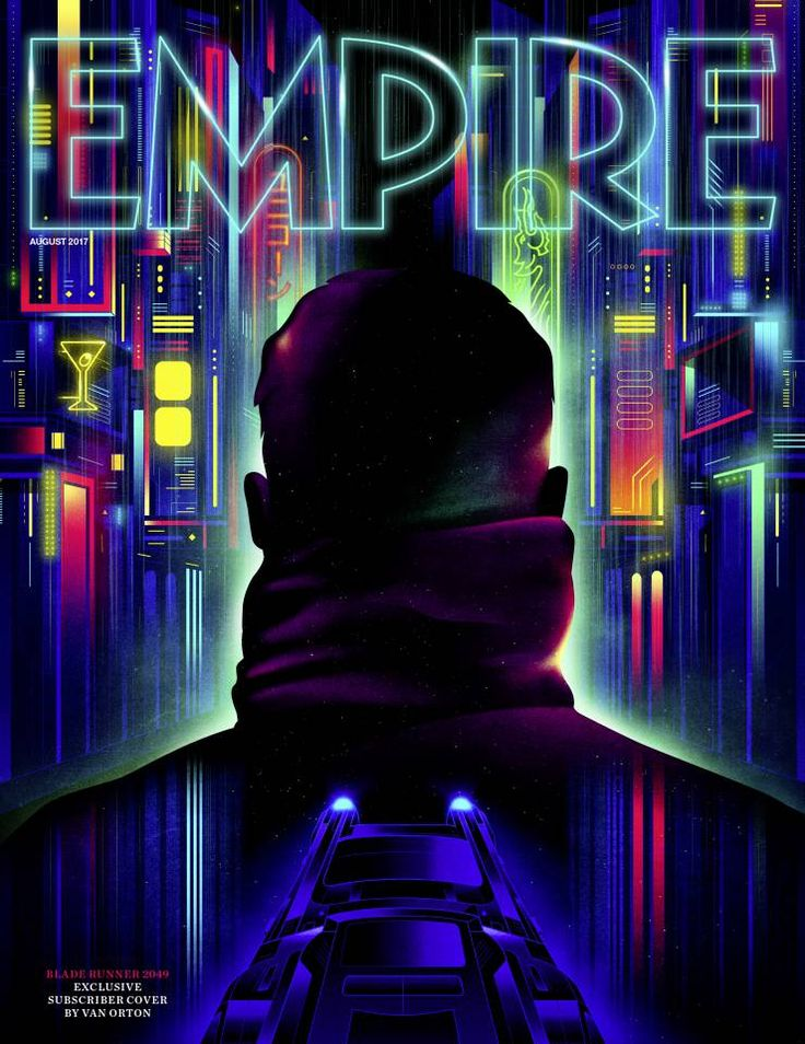 Empire's Subscriber Exclusive Blade Runner 2049 Cover Art Revealed