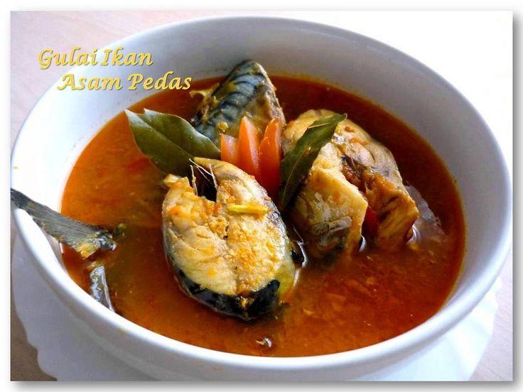 Gulai Ikan asam pedas (Indonesian food)