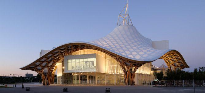 Centre Pompidou-Metz (Metz, 2010) © Shigeru Ban Architects Europe
