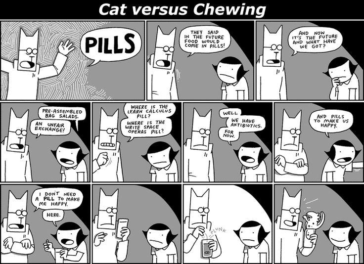 Cat versus Chewing