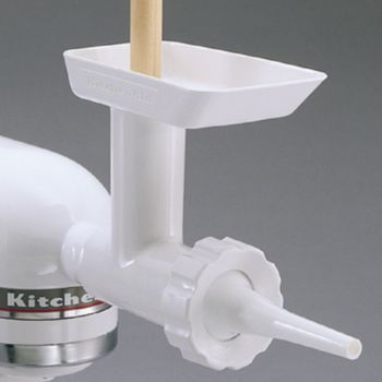 how to use kitchenaid sausage stuffer