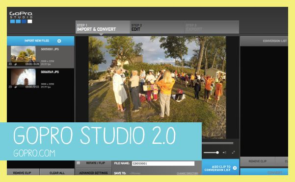 GoPro Studio Video Editing Software for Home Movies - GoProMom.com