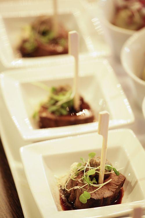 Smoked Beef fillet with mushroom puree #StyleNight