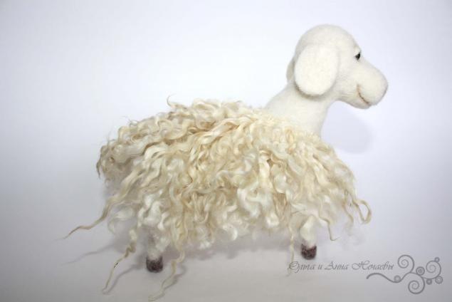 Мастер класс по валянию овечки - Ярмарка Мастеров - ручная работа, handmade