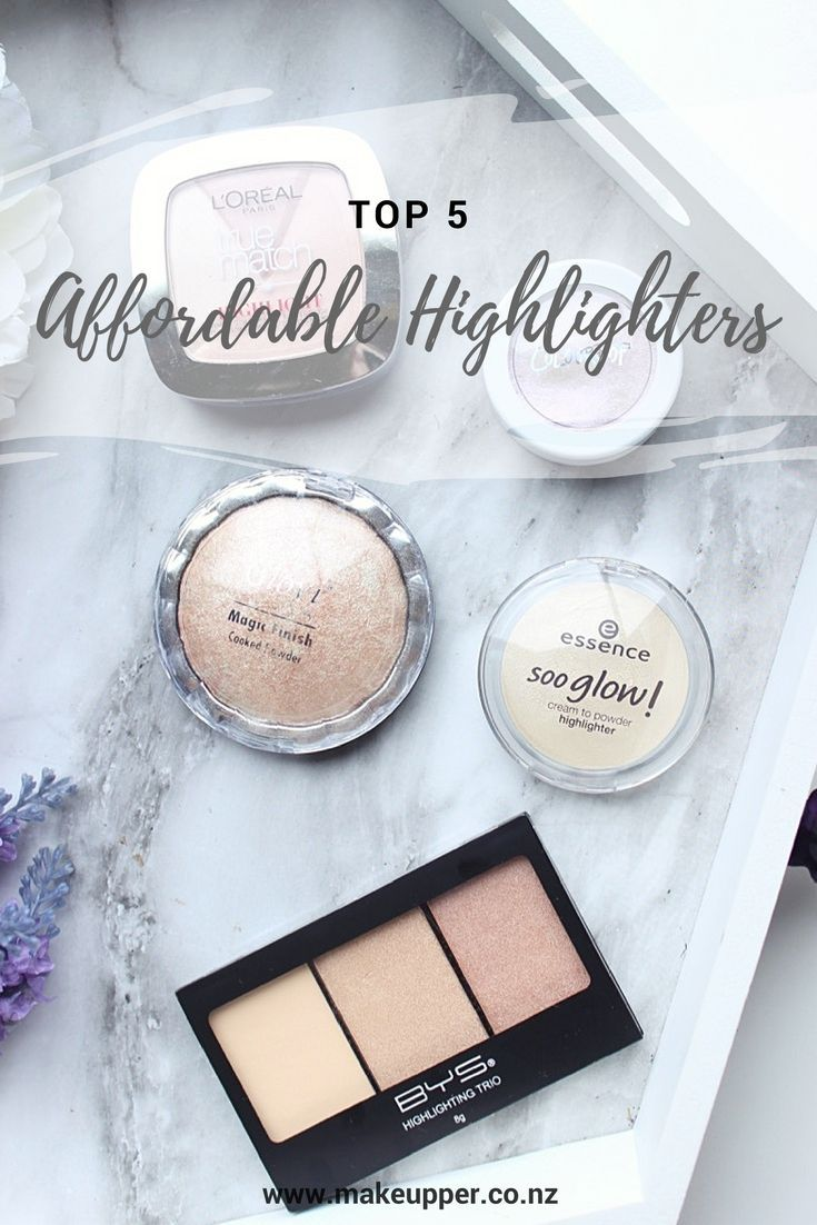 You don't need to spend a lot of money on highlighters - you can get great highlighters at the drugstore! Check out the top 5 affordable highlighters featuring Essence, Colourpop and more...