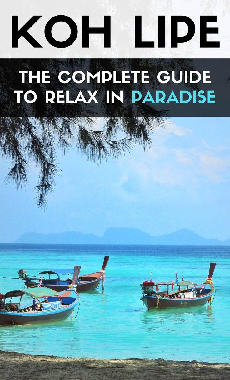 KOH LIPE: Paradise in Thailand. Start planning your trip @amazingthailand @go2thailand #thailand #kohlipe