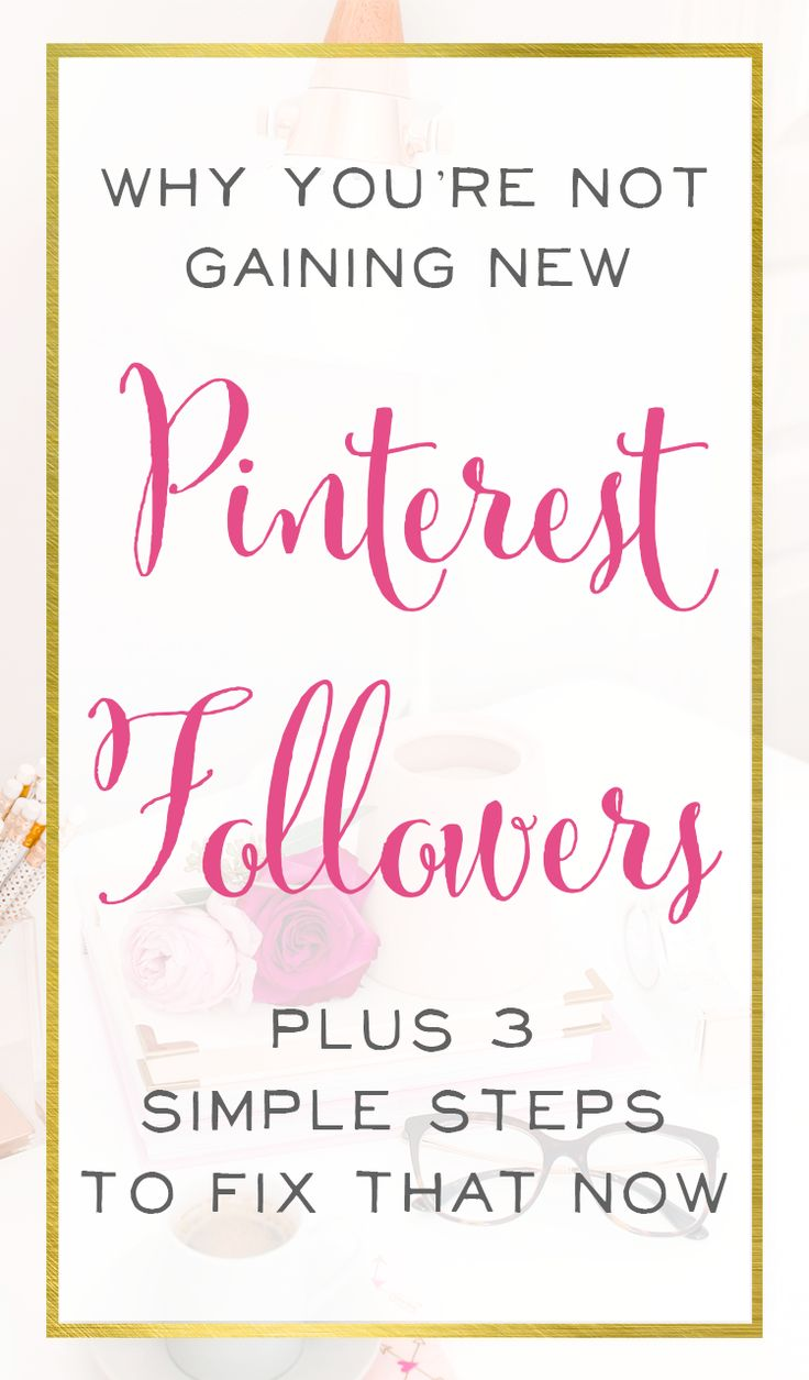 We all want more followers on Pinterest so we can get more traffic to our site and shop and find new loyal customers. These easy steps to more followers can help!