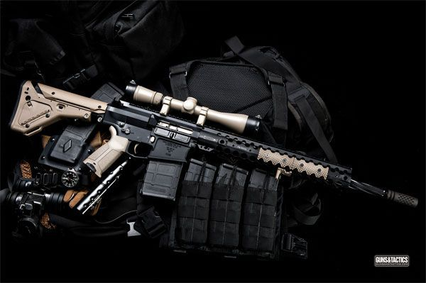 Do it yourself .308 AR-10 Rifles | GUNSANDTACTICS.COM Photographer: Crossfire Photography