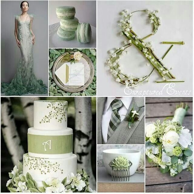 Beautiful color palette as featured on Praise Wedding                                                                                                                                                     More