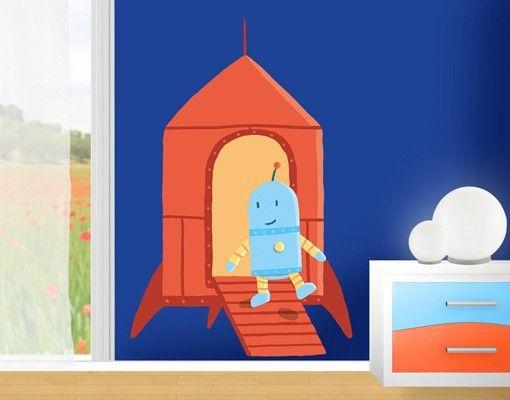 #Wandtattoo #Babyzimmer Akkuratus - #Rakete #Kinderzimmer #Trends #Wanddekoration #für #Kinder #Mädchen und #Jungen #Formen #Streifen #Kindsein #Zimmer #gestalten #dekorieren