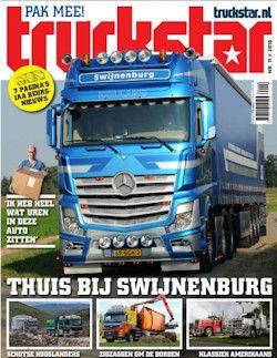 13x Truckstar € 50,-: Truckstar: geen chauffeur kan zonder! Neem nu een abonnement van 13 nummers met korting!