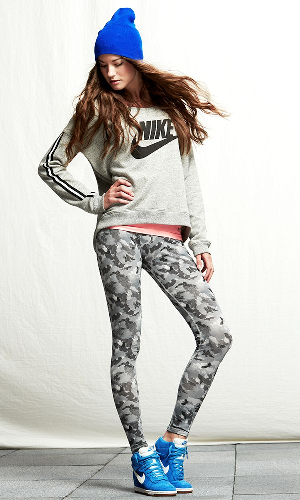 No work out outfit is complete without crazy tights....itu0026#39;s great for street wear too! TRACK ...
