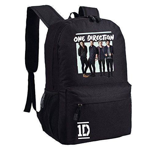 Differ 2016 One Direction Backpack 1d Bag for School Girls Boys Black Bags for Teens * Check out this great image @ http://www.myvacationdestinations.com/store/differ-2016-one-direction-backpack-1d-bag-for-school-girls-boys-black-bags-for-teens/?hi=020716070558 - brand name bags, black ladies bag, side bag purse *ad