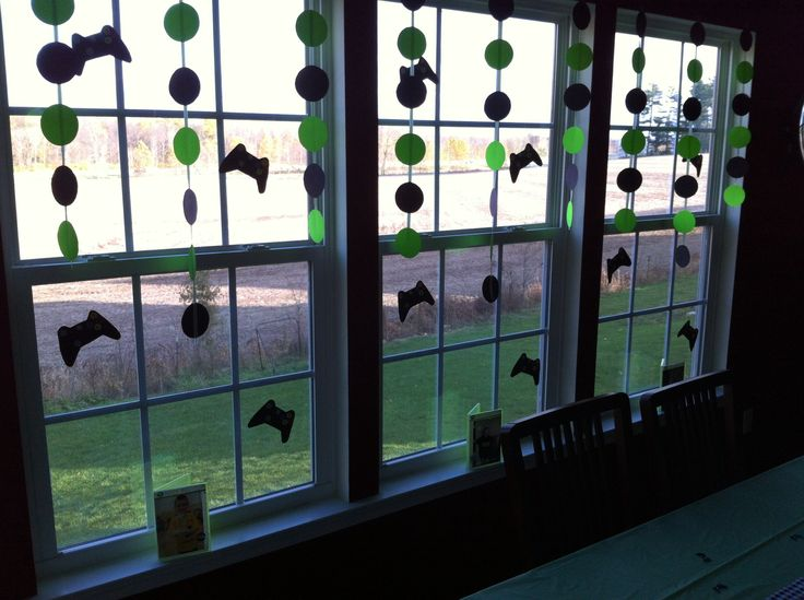 135 best images about video game party ideas on pinterest for Decoration xbox one