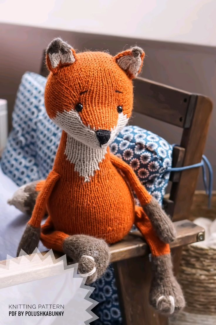 Crochet Pattern Fish Amigurumi Toy