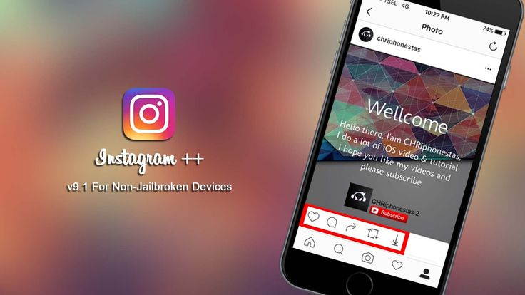 [Update] Install Instagram ++ v9.1 For iOS 9.3.5 / 10 Without Jailbreak