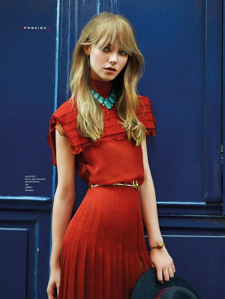 Pride of Paris SCMP Style -  South China Morning Post Style Magazine - Alexandra Tikerpuu by Benjamin Kanarek - Valentino