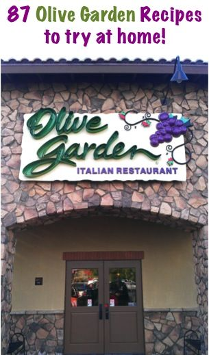 Copycat Olive Garden Recipes.