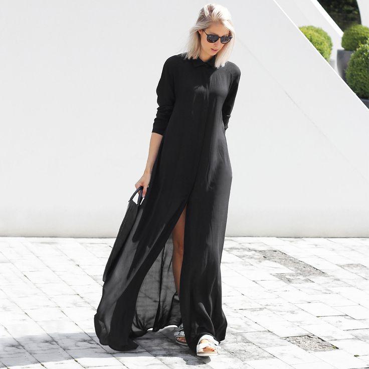 Джойс Croonen - Wackerhouse платье - Длинное платье   LOOKBOOK