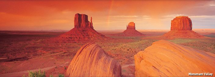 Utah, Monument valley, You don't even have to leave your car for this one.  Make sure you have plenty of day light though.