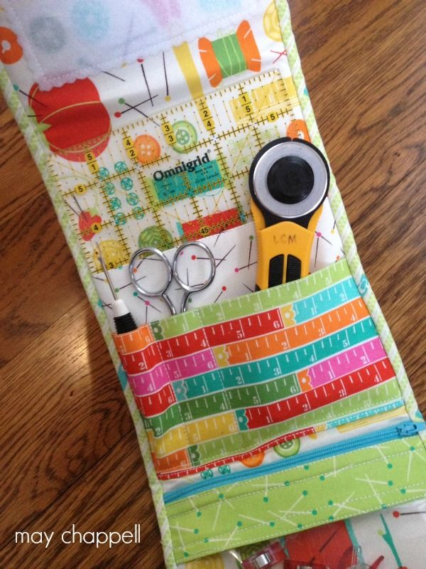 Travel Handmade in Style! - Sewing Kit Pattern Review from May Chappell